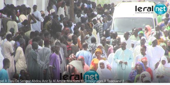 3e jour du rappel à Dieu d'Al Amine : Tivaouane  au rythme de recueillements et de présentation de condoléances