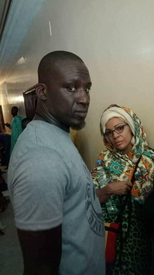 Photos: Assane Diouf et sa femme en visite à Touba