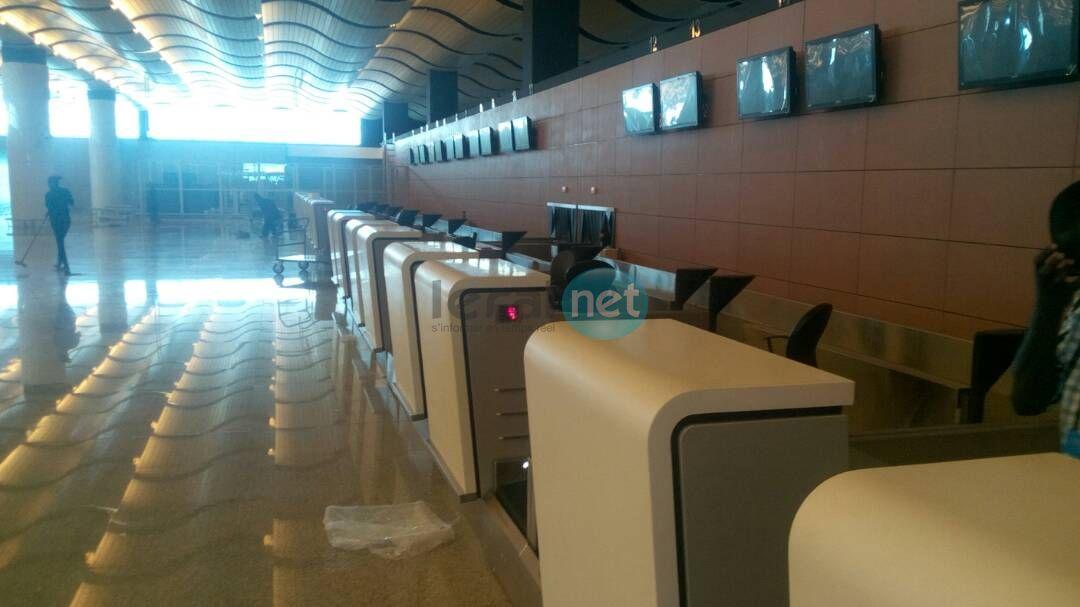 Photos : la visite à l'aéroport International Baise Diagne (AIDB) du directeur de l'Apix et de la délégation chinoise