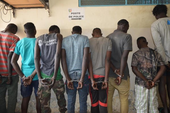 Association de malfaiteurs, vol commis la nuit avec moyen de locomotion : Bathie Guèye, Dame Diop et Omar Ndiaye, condamnés à deux ans de prison, dont un an ferme