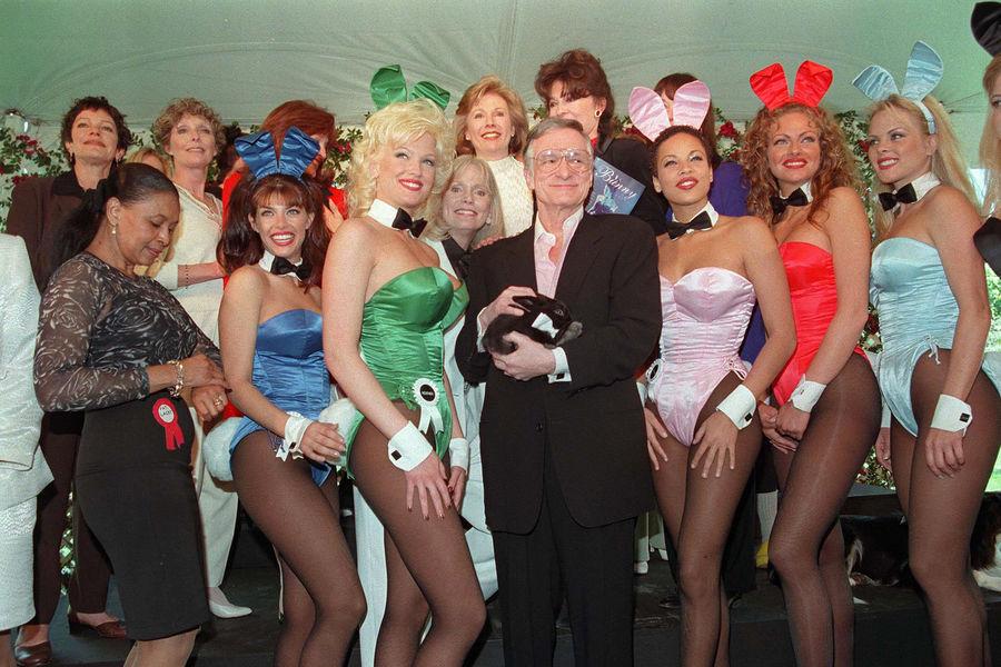 """Le mythique fondateur de """"Playboy"""" est mort : Hugh Hefner, sa vie en images"""