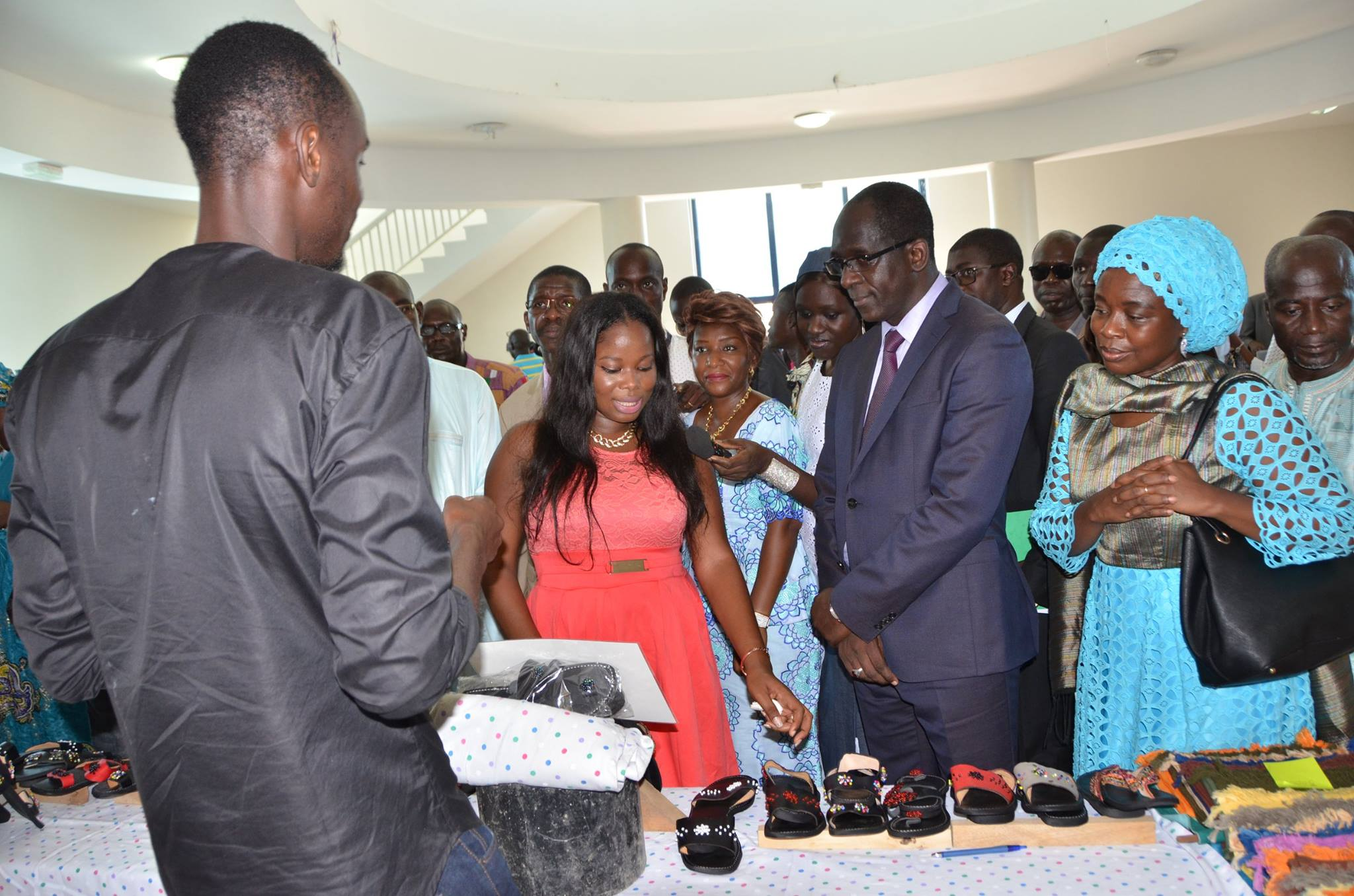 Images: Abdoulaye Diouf Sarr à la célébration de la 20e édition de la Semaine internationale des sourds