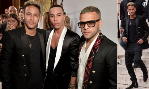 Neymar, folie à la Fashion Week (vidéo)