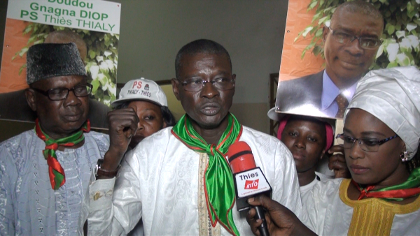 """Coup de gueule de Doudou Gnagna Diop, responsable socialiste de Thiès: """"Avec seulement deux ministres, on ne peut pas dire qu'on gouverne ensemble"""""""