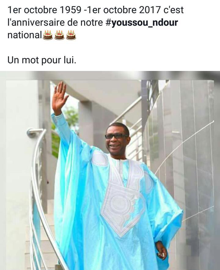 Joyeux anniversaire à Youssou Ndour, la star planétaire