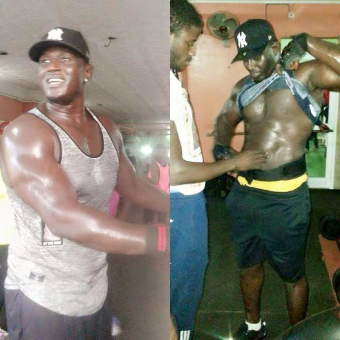 Images : Balla Gaye 2 montre l'état de sa forme avant son combat contre Gris Bordeaux