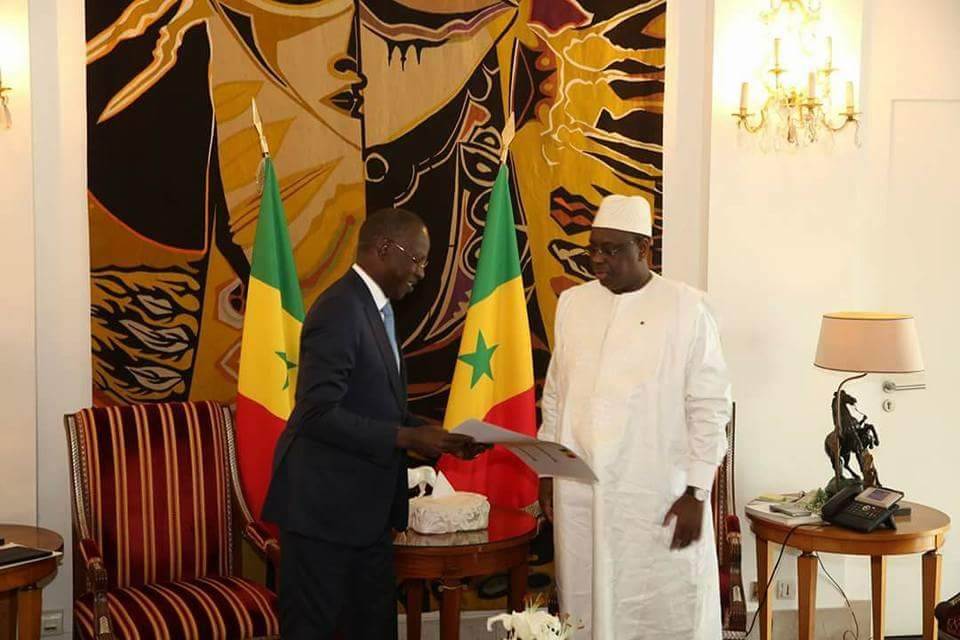 Le PM, Mahammad Boun Abdallah Dionne en vacance