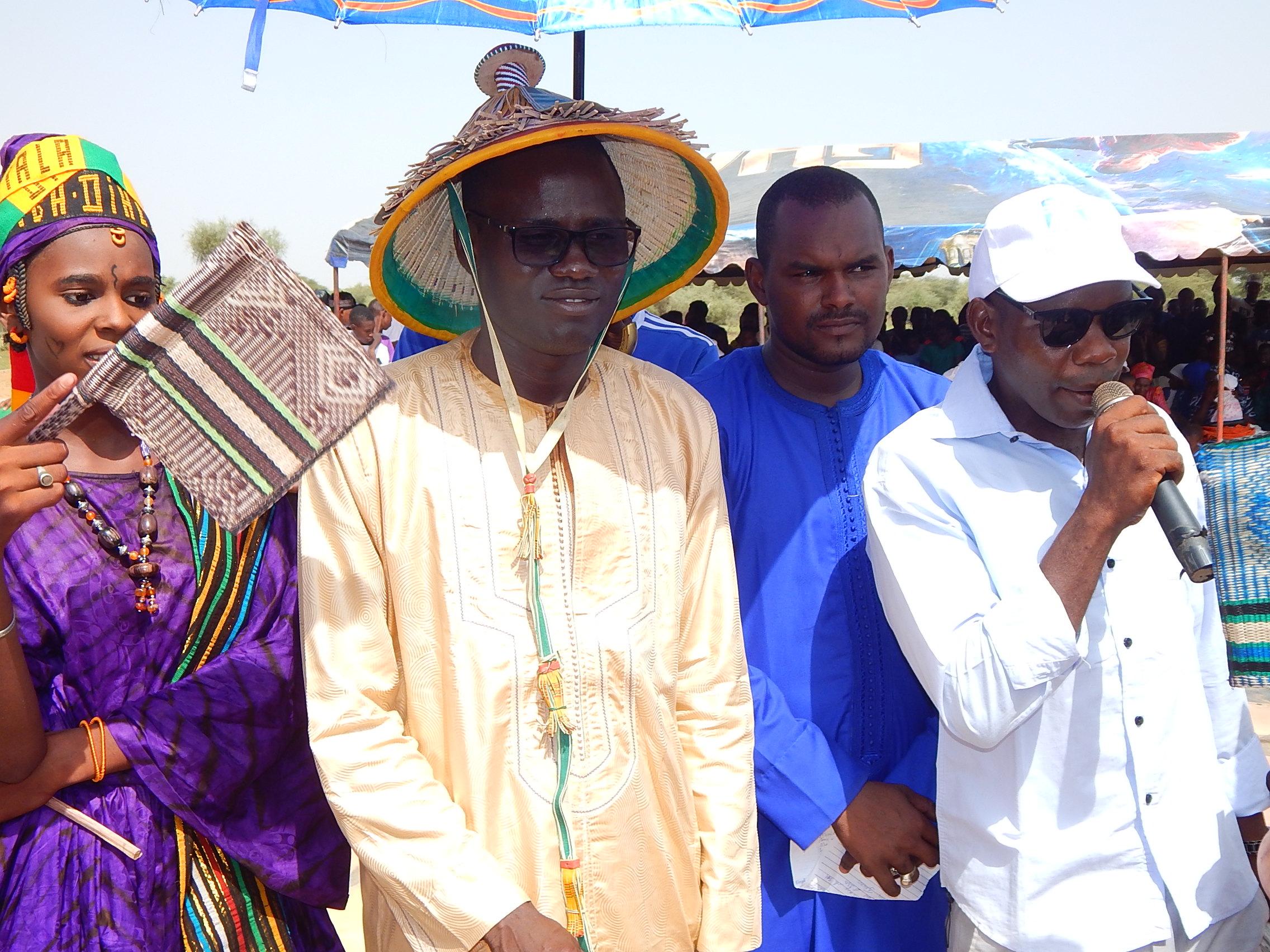 PODOR - Visite du président du Conseil National de la Jeunesse, Khadim DIOP accueilli en grande pompe par les populations de Bocké Dialloubé