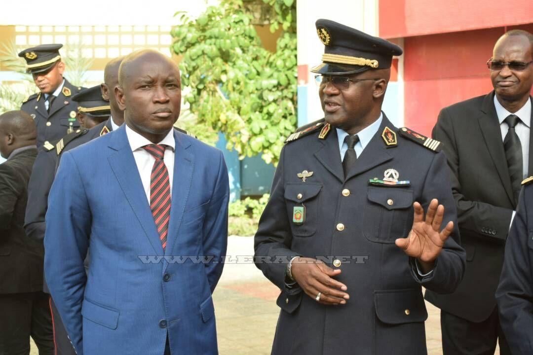 Photos : La visite de Aly Ngouille Ndiaye, ministre de l'Intérieur à la Caserne des Sapeurs Pompiers
