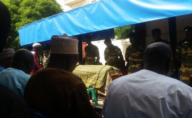 Levée du corps de Baye Peulh : Un ultime hommage rendu à un 'géant' du théâtre sénégalais