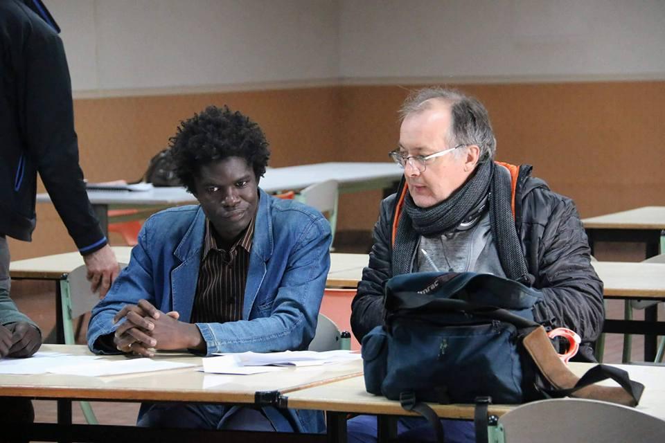 15 photos : Mustafa Naham à fond dans le tournage du film du réalisateur français, Philippe Faucon