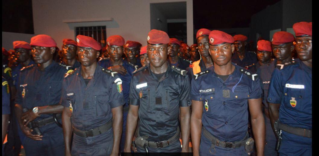 Opérations de sécurisation de grande envergure : la Police interpelle 1.571 individus, 1,450Kg de drogue saisis