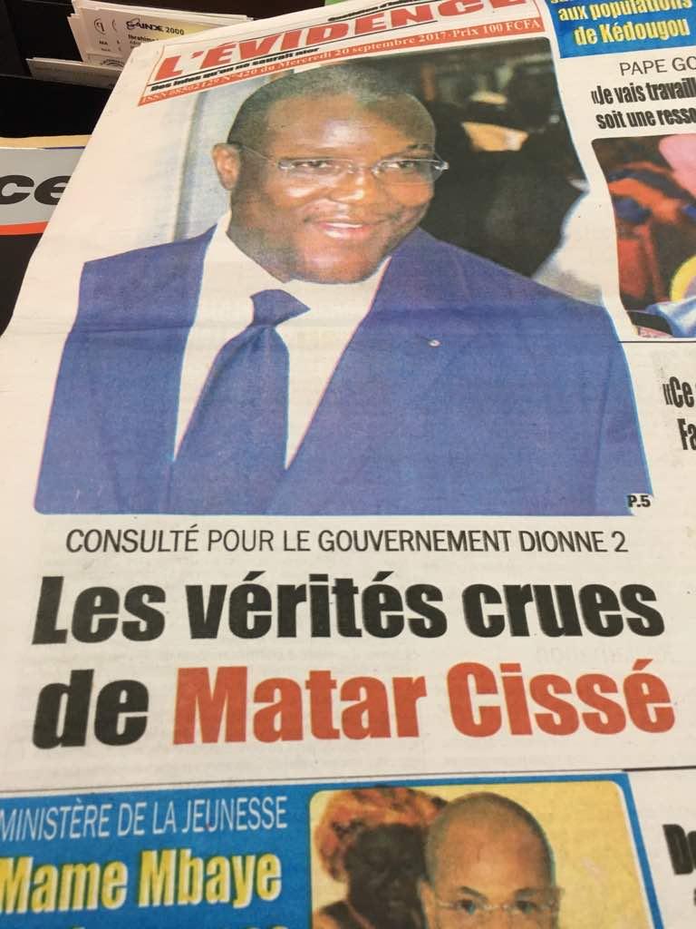 Cheikh Sidy Ahmed Sy soutenu par les Lébou pour être khalife général des Tidianes : le CORED brocarde le journal L'Evidence suite à une plainte du Grand Serigne de Dakar