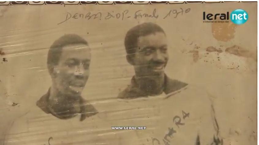 Photos : Feu Matar Niang et Louis Camara dans les années 70, au stade Demba Diop