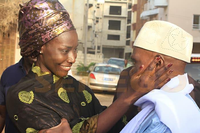 Photo : Coumba Gawlo Seck et Me Wade, une belle histoire d'amour