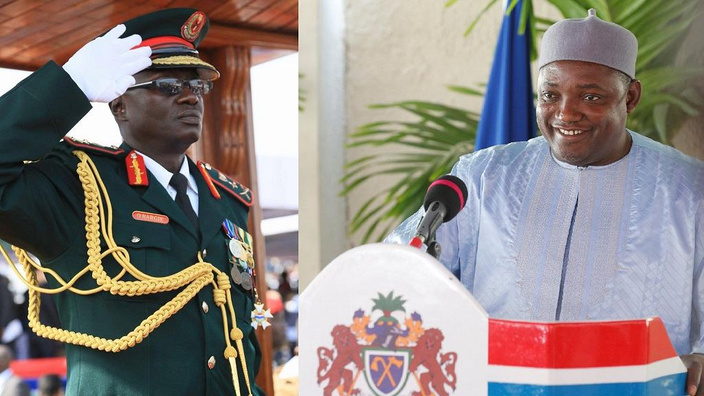 Armée gambienne : Le Président Barrow renvoie encore plusieurs officiers proches de Jammeh