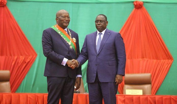 Visite officielle au Sénégal : Le Président  du Faso, Roch Marc Christian Kaboré est à Dakar