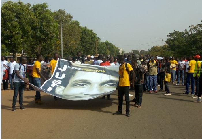 Burkina Faso: une marche pour exiger la vérite sur la mort de Thomas Sankara