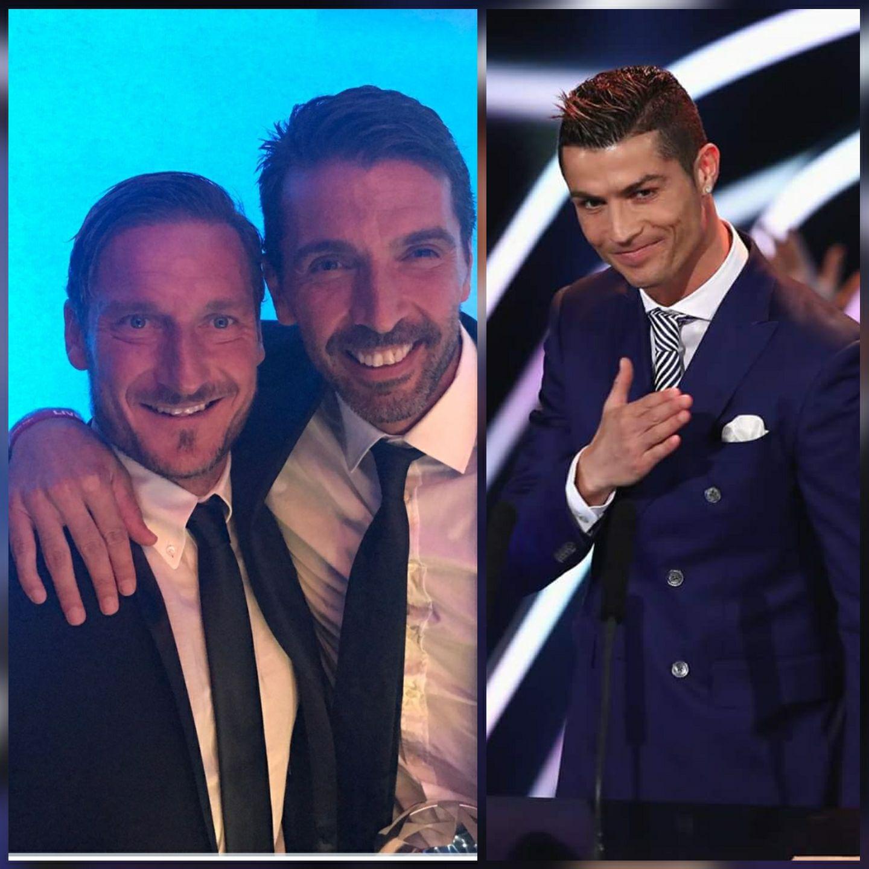 Totti donne ses favoris aux trophées « The Best » de l'année 2017