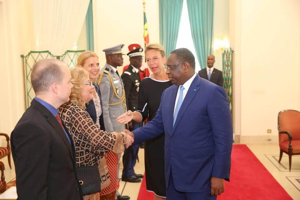 Macky Sall a reçu six lettres de créances des nouveaux Ambassadeurs au Sénégal