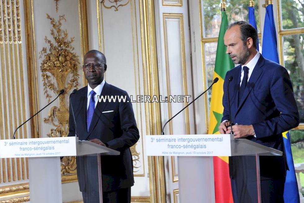 Séminaire intergouvernemental franco-sénégalais : Mahammed Boun Abdallah Dionne félicité par les Sénégalais de France