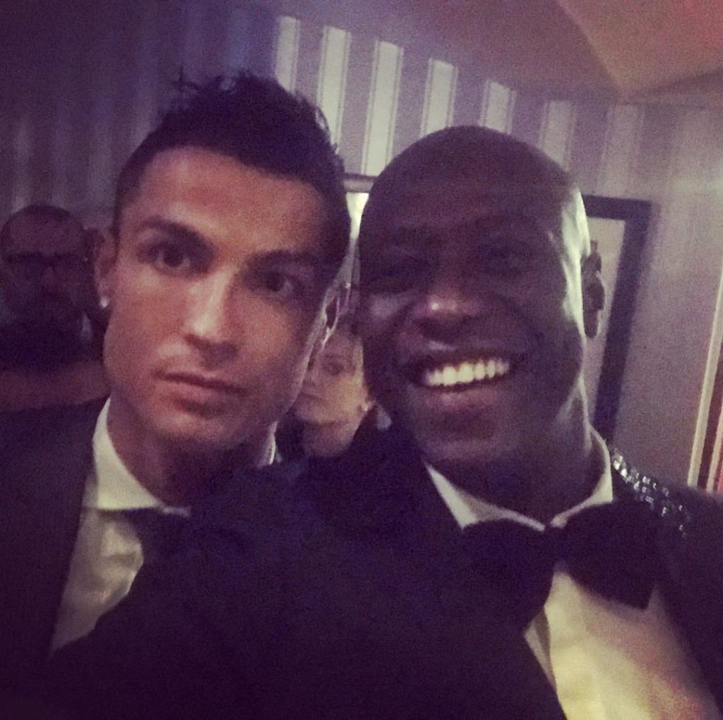 Arrêt sur image – Fadiga et Cristiano Ronaldo posent ensemble