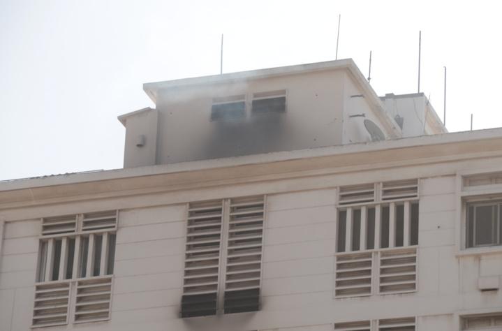 Incendie de l'immeuble Allianz à côté de la 2sTv: Une Française de 93 ans y aurait perdu la vie