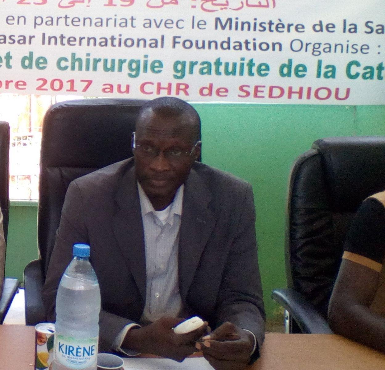 Doudou Diouf, directeur de l'hôpital de Sédhiou