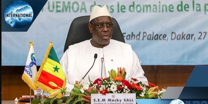 """Macky Sall: """"L'UEMOA doit se doter d'une stratégie de lutte contre le terrorisme, sous toutes ses formes"""""""