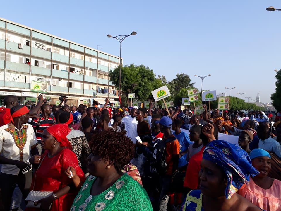 Photos- Grand rassemblement à la Médina pour la libération de Khalifa Sall