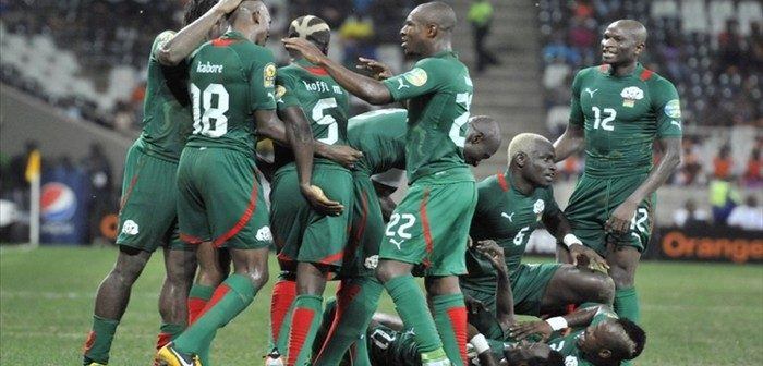 Burkina Faso : l'équipe nationale de football est en deuil (photo)