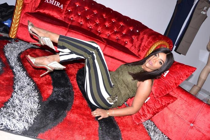 Photos : Astou Mbaye, de la série Belle vie, in the house