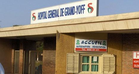 Grand-Yoff : La Police investit l'hôpital, annule l'Assemblée générale et convoque le porte-parole des syndicalistes