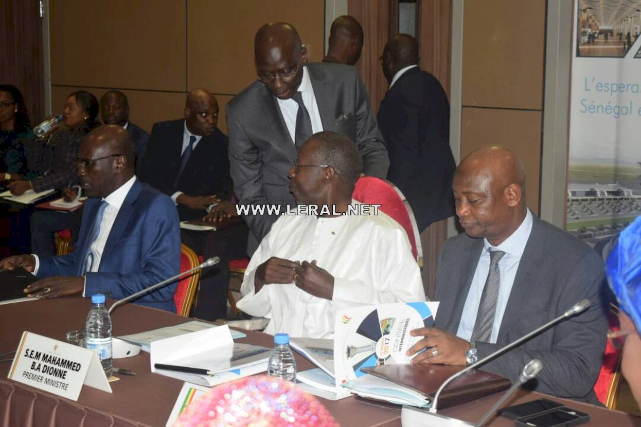 Photos : le Conseil interministériel consacré à l'Aéroport International Blaise DIAGNE en images