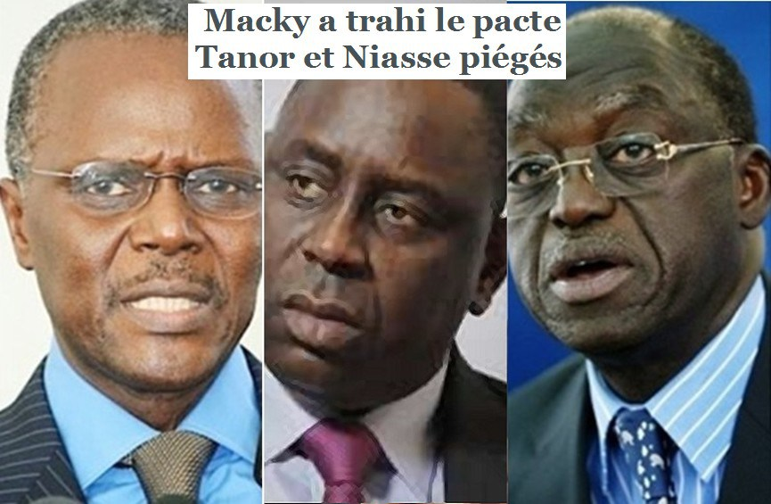 Retrouvailles Wade-Macky : Niasse et Tanor, dindons de la farce
