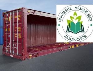 Ziguinchor : Les cours de l'Université Assane Seck se déroulent dans des conteneurs
