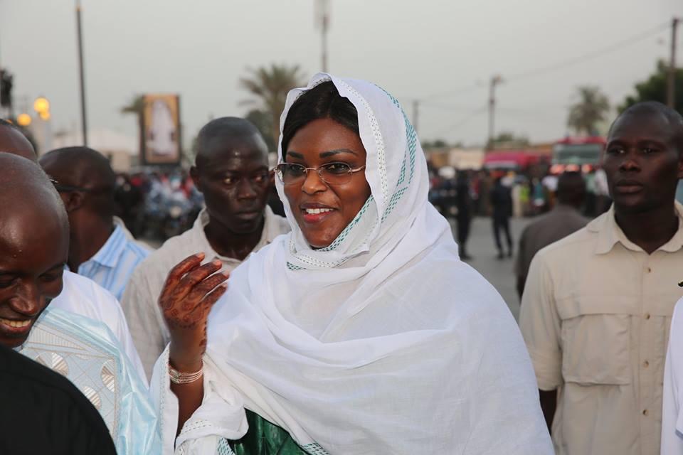 Arrêt sur image: Le sourire radieux de la Première Dame à Touba
