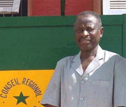 Feu Oumar Lamine Badji, Pdt du Conseil régional de Ziguinchor
