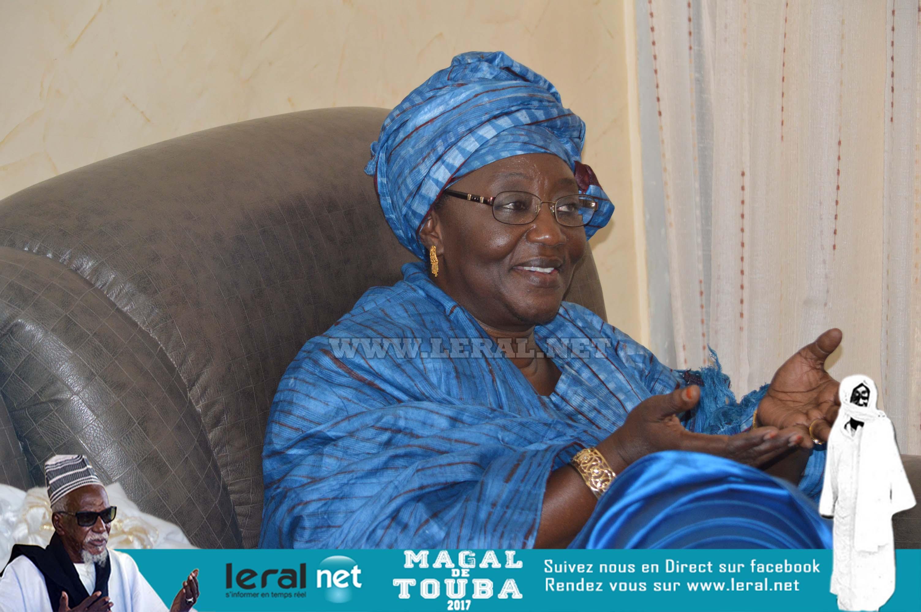 Magal Touba 2017: Images de la visite de l'ex-président Abdoulaye Wade