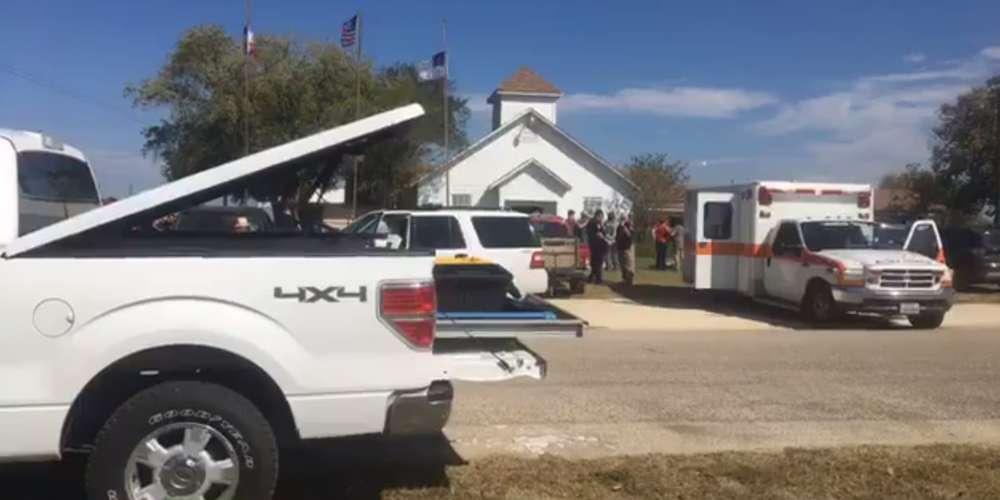 Plusieurs victimes lors d'une fusillade dans une église au Texas