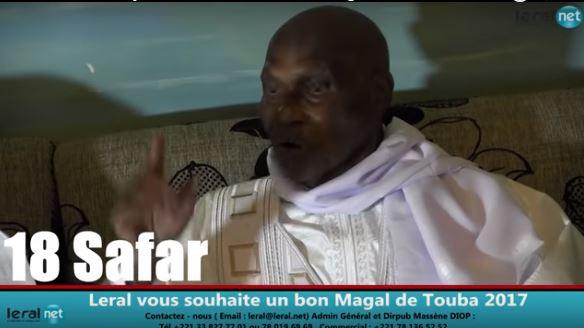 Me Wade à Touba : « Macky Sall m'a attaqué et a tenté de m'humilier(…) Dieu nous départagera »