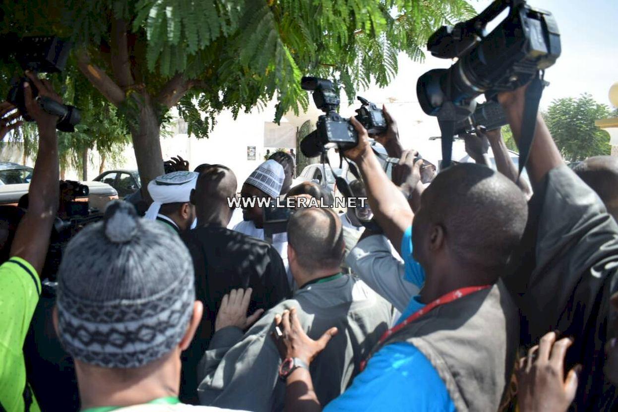 (21 Photos) Colloque International sur le Soufisme: Arrivée de Serigne Bass Abdou Khadre et Serigne Mountakha Mbacké