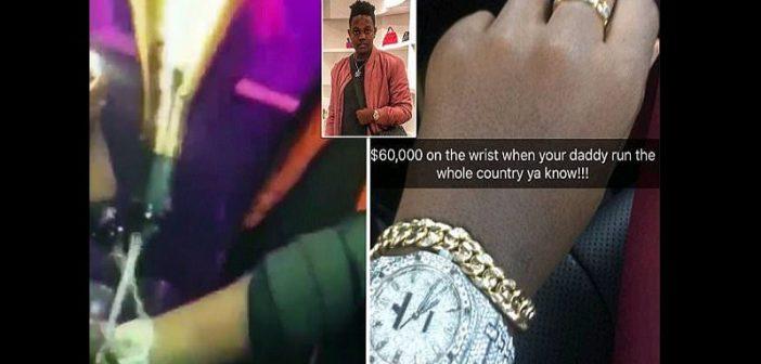 Zimbabwe : le fils de Mugabe choque la toile en vantant sa montre de 60 000 dollars (vidéo)