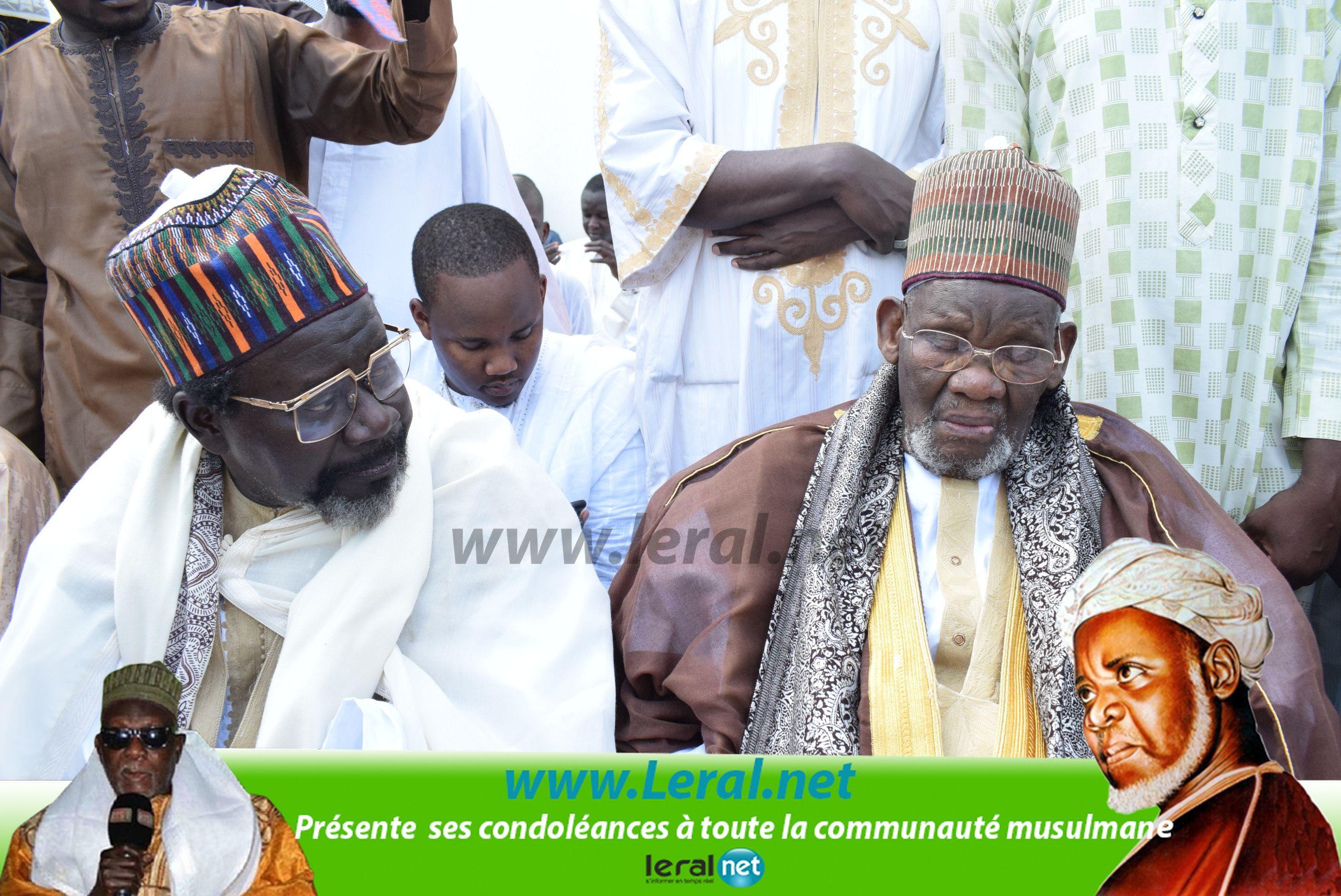 Découvrez les premières images de l'inhumation de feu El Hadji Ibrahima Niasse