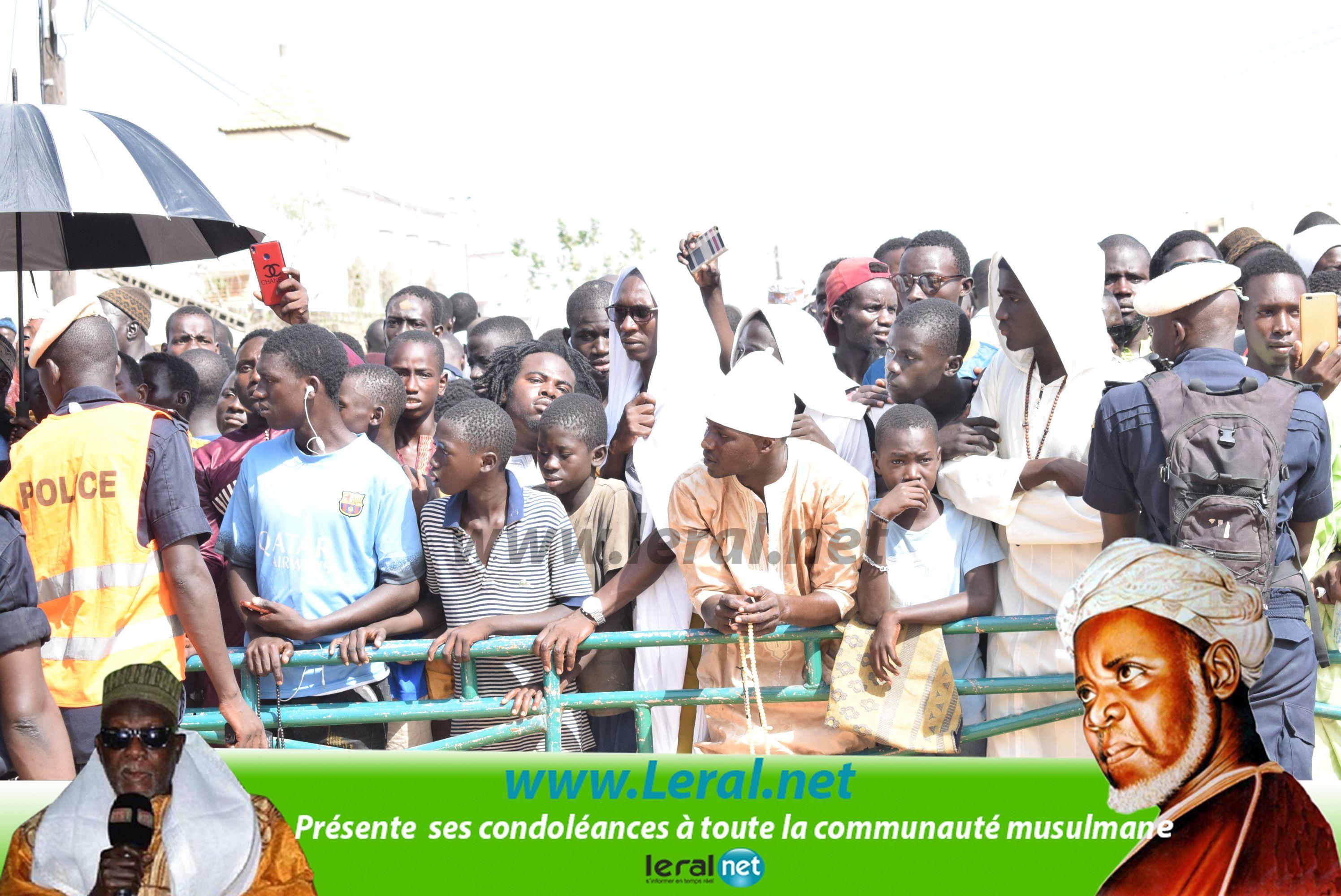 Les images fortes de l'inhumation de Feu El Hadji Ibrahima Niasse