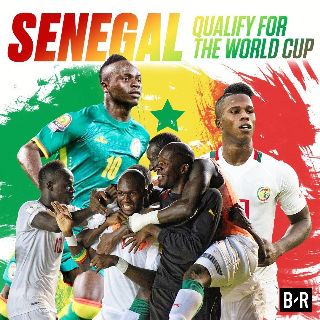 Le Sénégal qualifié pour la Coupe du monde