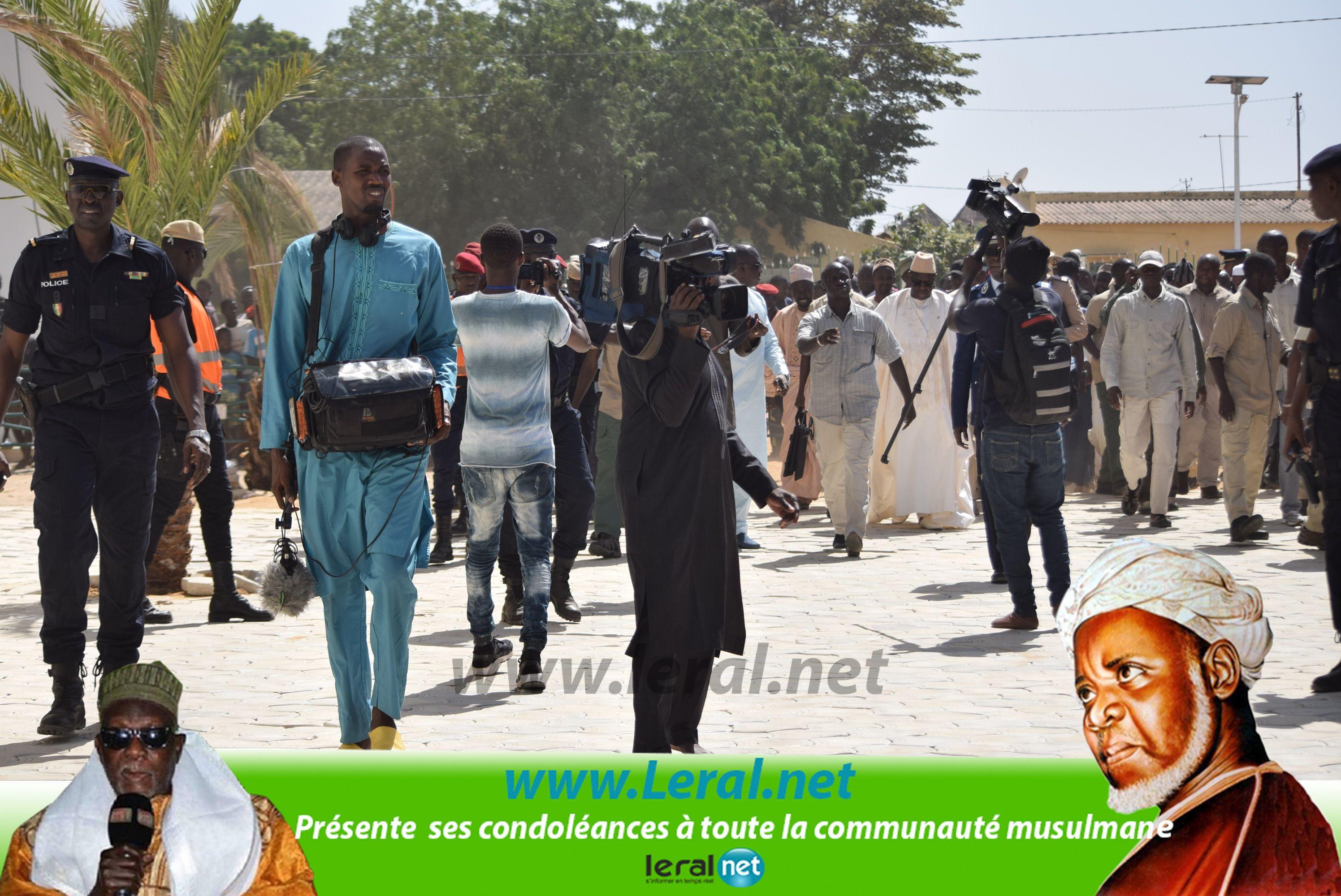 Images: Le Président de la République à Leona Niassene pour présenter ses condoléances
