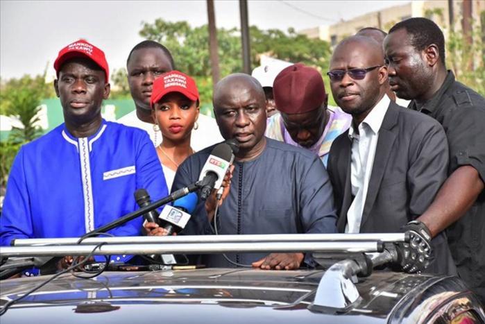 Rencontre sur le processus électoral : Gackou et Cie déclinent l'invitation de Aly Ngouille Ndiaye