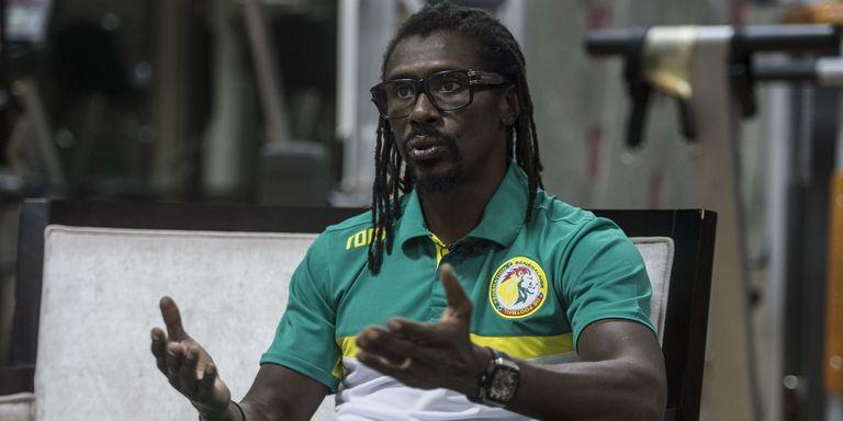 """Aliou Cissé, coach des """"Lions"""": """"Je pardonne à tout le monde et je demande pardon"""""""