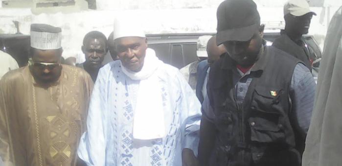 Arrivée de Me Abdoulaye Wade à Léona Niassène